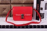 2015 top quality genuine leather fashion shoulder bag portable shoulder cross-body women handbag famous desinger brand flap bag