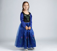 In the autumn of 2014 Korean version of the new brand girls ice enchanted princess dress FROZEN S&L