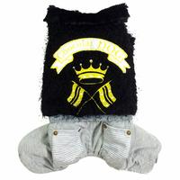 Thicken Dog Clothes Winter Pet Dog Jumpsuit Fleece Warm Clothing Coat Crown Fur four legs Cat Puppy Apparel 4 Size S M L XL