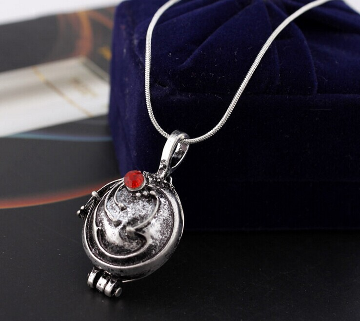 2015 Real New Vintage Unisex Chains Necklaces Round Collares 7 Free Shipping The Vampire Diaries Necklace