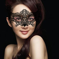 Hot Sell Fashion Sexy Women Masquerade Mask Nightclub Costume Halloween Party Eye Mask Free Shipping
