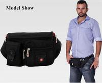 2014 Genuine Swiss army knife men' messenger bag waist pack men multi-layer casual sports bag chest pack men waist bag men H157
