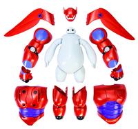 2015 New Model Toys Transform Assemble Big Hero 6 Action Figure Toys Baymax Fat Balloon Man Dolls Cartoon Model Toys Kids Toys