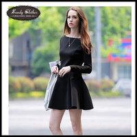 Whosale Sale!! Plus Size 2014 Fashion Women Vestidos Casual Dress Autumn Winter Dresses Long-sleeve Sweater Dress Office Dress