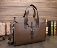 2014 new fashion brand leather Men's Briefcase bag, Business Handbag,high quality Men Messenger Bag, men's travel bag