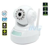 P2P 1280*720P HD IP Camera Wifi Wireless Network Security Camera H.264 IR-cut CCTV Camera (Apple Android Windows System Support)
