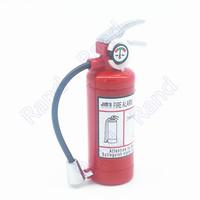 Mini Fire Extinguisher Style Shaped Butane Jet Lighter for Cigar Cigarette with LED Flashlight Refillable