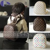 High Quality PU European Sac Femme Backpack Bags For Girls Baby Sac Shoulder Bag Girl Kid Handbags Casual Bag Mochilas Infantis