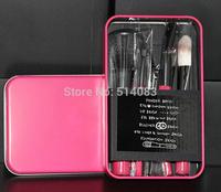 stylenanda 3ce Makeup Brushes & Tools Professional mini brush sets & kit soft hair metal Portable box 7pcs different function
