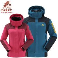 TOP Quality Outdoor Jackets For Women and Men Overcoat Hoodie Sport Jacket Splice Unisex Coat Waterproof Outerwear Men's Jacket