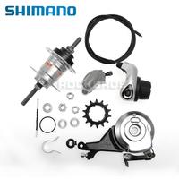 SHIMANO Nexus Internally Geared Hub Inter-3 3-Speed Revo Shifter Roller Brake