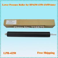 Free shipping Wholesale 3PCS/LOT lower sleeved roller LPR-4250 OEM Fuser pressure roller for HP 4250 4350 4345 printer
