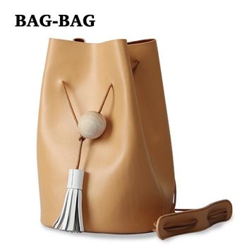 2015 новый высший сорт ведро женщин из натуральной кожи сумки сумки на ремне , мода строка Crossbody сумки для девочек прямая поставка A082