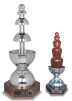 Shentop 304 Stainless Steel The Fifth Generation Automatic Heating Chocolate Fountain Chocolate Fondue Fountain