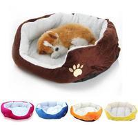 Waterproof Super Warm Fleece Puppy Pets Dog Cat Bed House Basket Nest Mat