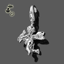 New arrival Wholesale Super deal Fashion ts charm diy jewelry cupid pendant 0996 – 001 – 12  fit Thomas Style chains