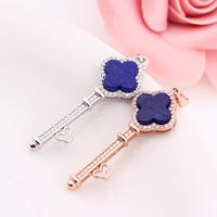 e new 925 silver inlaid Lapis T classic home key pendant 5A natural gourmet emperor lapis lazuli wholesale manufacturers