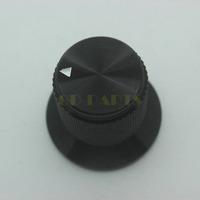 10PCS 30*25mm Black Anodized Solid Aluminum CNC Machined Vintage Tube Amplifier DAC CD Player 6mm Shaft ALPS Potentiometer Knob