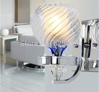New 2015 Hot Sell Modern Leds Wall Light lamp Hotel Bedroom Glass LampCover Wall Lamp AC90~265V Foco-Lighting Freeshipping