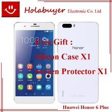 Original 100% Huawei Honor 6 Plus 5.5Inch Octa Core Android4.4 Phone 3G RAM 16G ROM Dual SIM Cards 8.0MP+8MP Dual Rear Camera(China (Mainland))