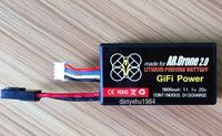Guaranteed  Quality 11.1V 1800mAH 20C Powerful Li-Po Battery For Parrot AR.Drone 2.0 Quadricopter