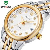 Top Luxury women watches clock quartz waterproof full steel watches calendar fashion causal women watches fashion wristwatches