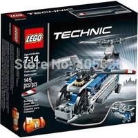 Lego Original Brand Blocks Bricks Lego Educational Models & Building Classic Toys 42020 Technic Series Twin-rotor Helicopter