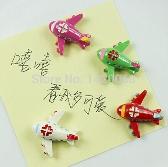 1 piece 21 styles Cartoon Airplane Car School Bus sticker Fridge magnet decals train boat anchor pumpkin carriage Present Gift(China (Mainland))