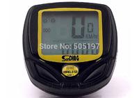 Black road bike stopwatch waterproof cycling odometer robust digital speedometer wireless bicycle computer