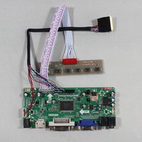HDMI+VGA+DVI+Audio LCD Controller board M.NT68676 work for 7~10.1inch N070ICG-LD1 N070ICG-LD4 B101EW05 1280*800 Lcd panel