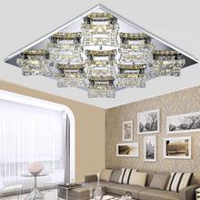 30X30CM Modern minimalist living room lamp led crystal lamp atmosphere rectangular dining room ceiling lamp lighting lamps(China (Mainland))