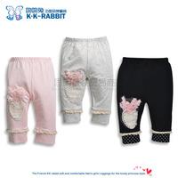 France kk rabbit children's leggings wholesale girls  leggings SL1239