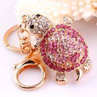 Cool Hee Korean jewelry creative new wind ornaments key creative longevity turtle key chain bag ornaments