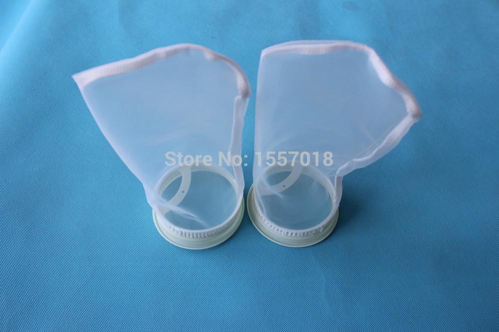 Hot Sale Nylon 75 Micron Coffee Milk Filter Bag 4'' x 9''(China (Mainland))