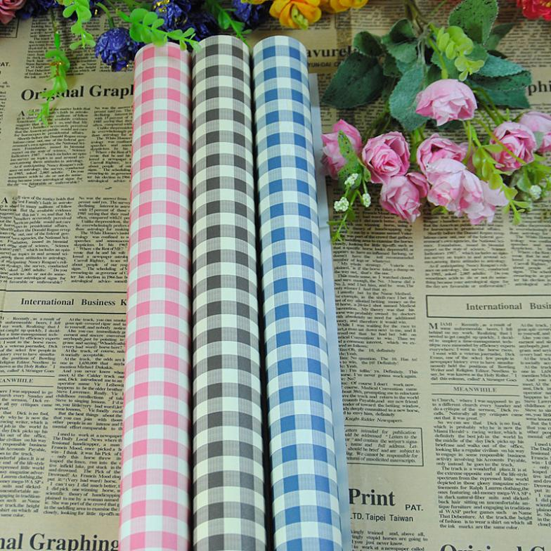 Checkered Wrapping Paper Pattern Wrapping Paper 50