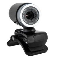 USB 50MP HD Webcam Web Cam Camera MIC For Computer PC Laptop Desktop Black