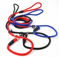 Pet Leash Adjustable Dog Collar Nylon Traction Belt Rope Chain Competion Game Training Walk Vest Harness Puppy Small Dog 4 Color