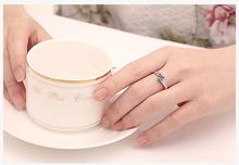 Women Rings Love Crystal Wedding Ring Promotion Cheap New 2015 Anel Feminino Valentine s Day Gift