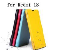SpecialOffer  1pcs nillkin case for Xiaomi  Redmi 1S    Flip leather case Fresh series + Retail box
