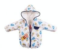 Retail 1pcs New autumn winter Anpanman velvet Boy outerwear  Coat  jacket Children sweater cartoon Hoodies AnpanmanSweatshirts