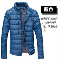 2014 Hot Sale Men Winter Jacket Korean Style Slim Fit Fashion Warm Thick Men Coat Free Shipping   110