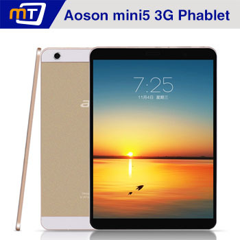 2015 New Aoson Mini5 3G Android Tablet Phone MTK6592 28nm Octa Core 13MP IPS 2048X1536 7