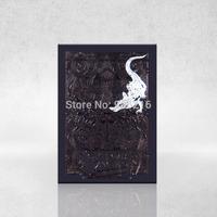 Free shipping 2014 playing cards poker black alligator magic poker cards