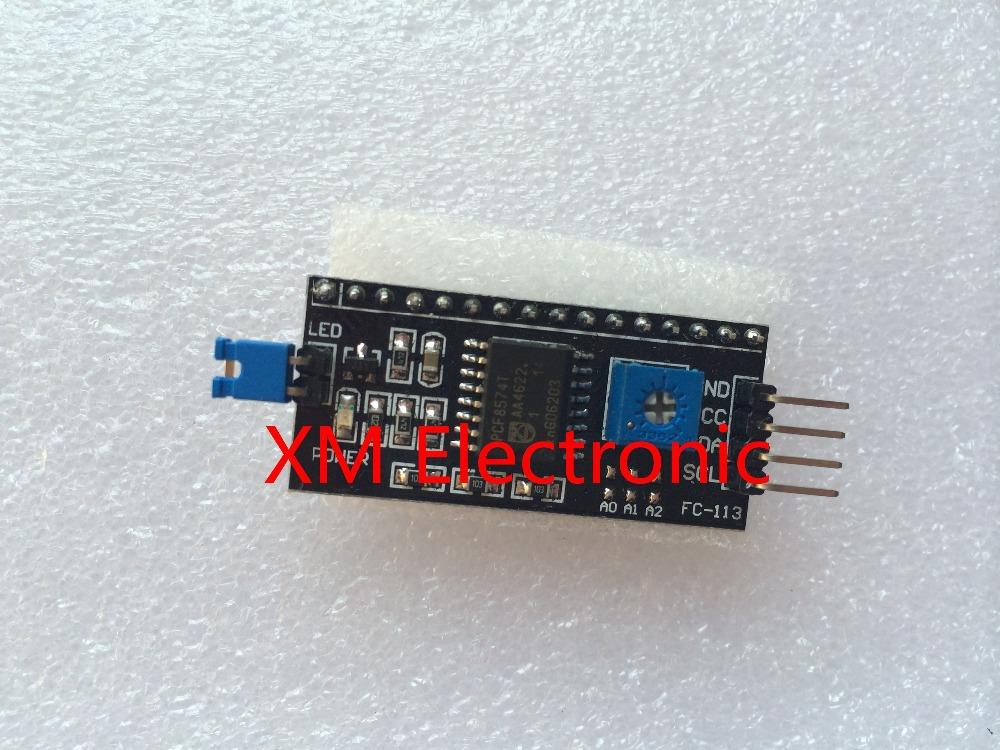 1pcs Serial Board Module Port IIC/I2C/TWI/SPI Interface Module for Arduino 1602 LCD Display Drop Shipping Wholesale(China (Mainland))