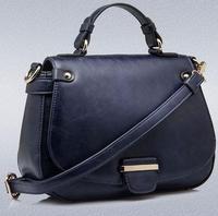 Hot Sale New 2015 Fashion Brand Women Handbag Burnished Leather Famous Brands Bag Women Messenger Bags Designer Handbags B634