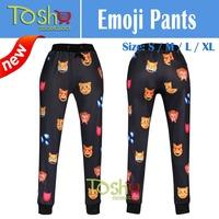 Men Emoji Jogger Casual Sweatshirt Pullover Emoji Joggers Pants Women Emoji  3D Tops Jogger Pants Sports Pants Free Shipping