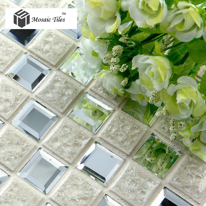 tst crackle ceramic mosaic tile 3d diamond cutting glass