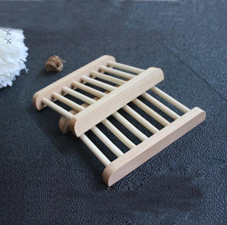 Handmade Natural wooden soap box handmade soap holder wool soap box soap box rack 10pcs\lot(China (Mainland))