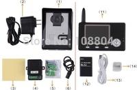 """3.5"""" Wireless Video Door Phone,video doorphone,video intercom"""