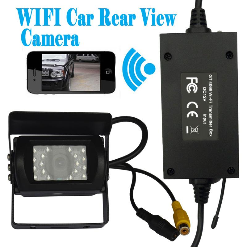 720p WiFi Backup Camera12VDC-36V Bus Rear View IP Camera with Waterproof+Dustproof+Shockproof(China (Mainland))